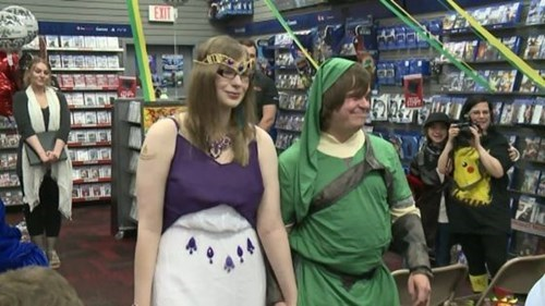 legend of zelda,video games,weddings,Video Game Coverage