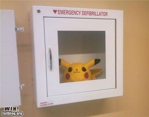 defibrillator emergency OR STAT pikachu Pokémon - 5068988928