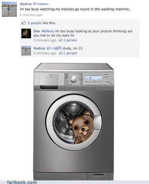 creepy,pedobear,washing machine