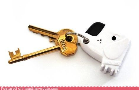 electronic found Keychain keys lost signal whistle - 5069080320