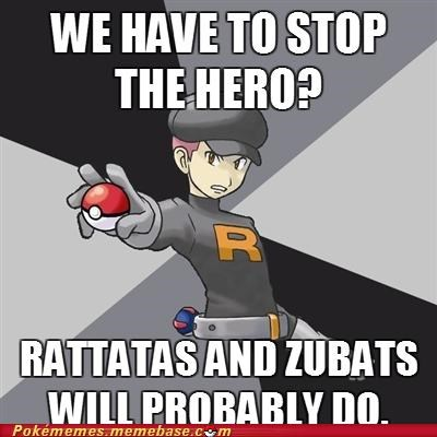gameplay,rattata,Team Rocket,weak,zubat