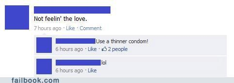 condoms,I see what you did there,witty reply