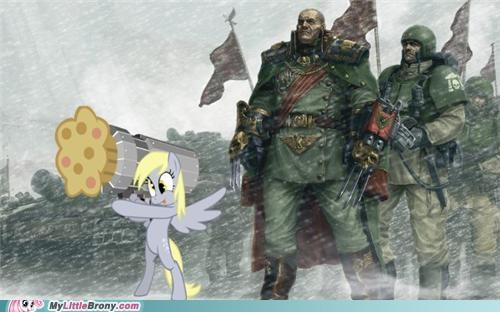 cannon derpy hooves muffin shoot war - 5069454336