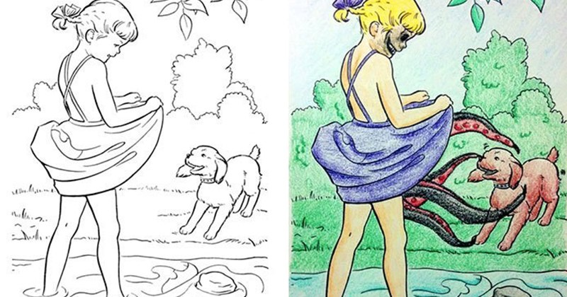 libros para colorear