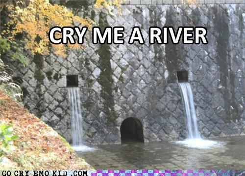 cry emolulz river Sad wall - 5069936384