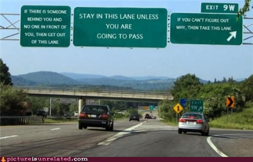 instructions road rules signs wtf - 5070294016