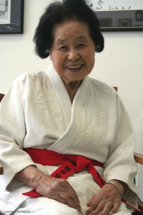 amazing person is amazing judo Keiko Fukuda tenth-level black belt - 5070390784
