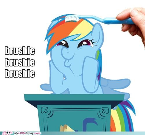 brush rainbow dash squee - 5070899456