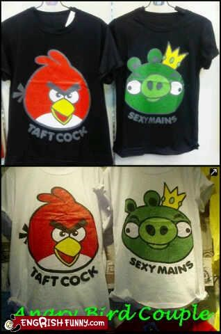 angry birds fashion shirt video games