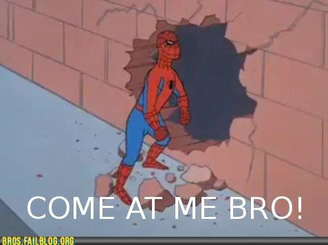 cartoons,come at me bro,kool-aid guy,ooh yeah,Photo,Spider-Man