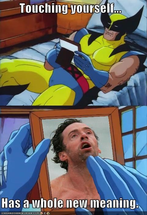 derp picture sexy wolverine x men - 5072316160