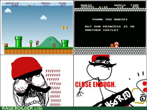 another castle Close Enough mario Rage Comics that looks naughty toad - 5072448256