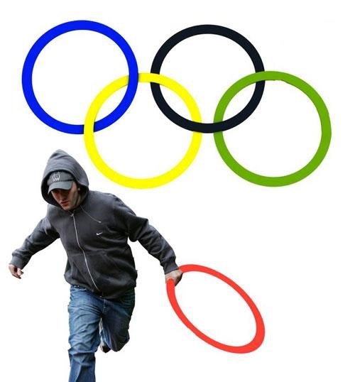 2011 London Riots,2012 Olympics,This Looks Shopped,UK Riots