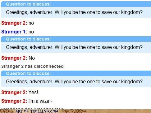 adventures,disconnected,kingdom,Omegle,savior