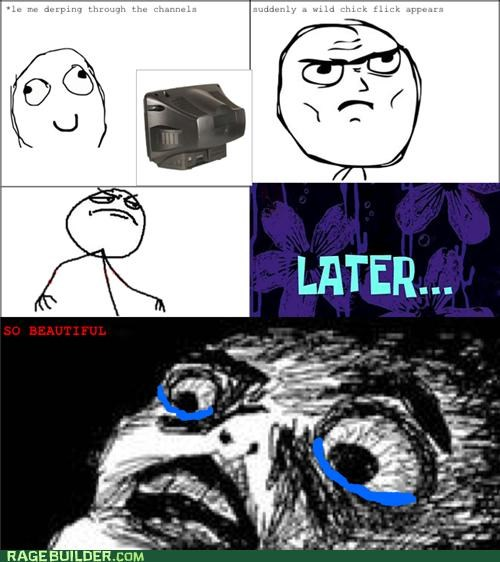 beautiful,chick flick,movies,Rage Comics