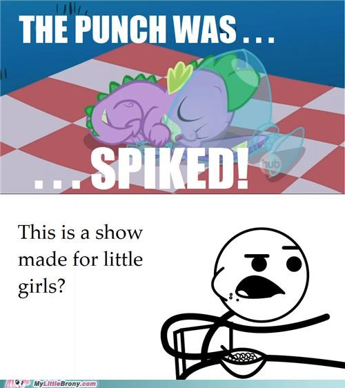 little girls punch spike - 5072706304