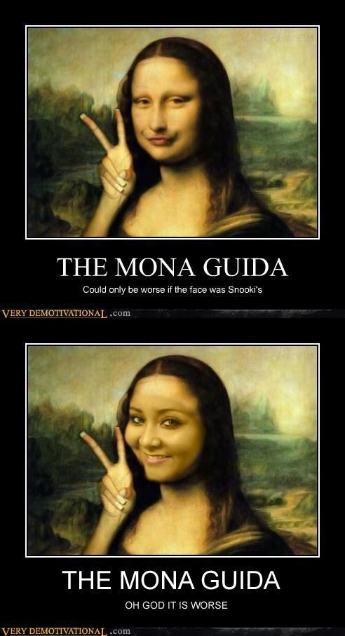 creepy,guida,hilarious,mona lisa,snooki