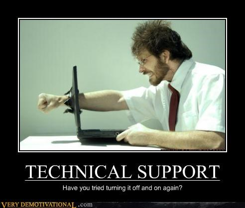 angry computer hilarious punch technical support - 5072725504