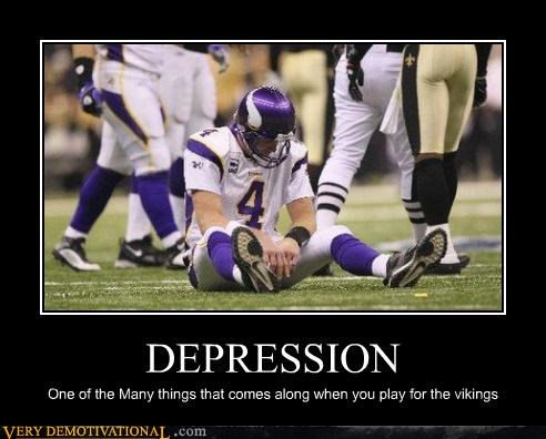 depressions football hilarious many sports vikings
