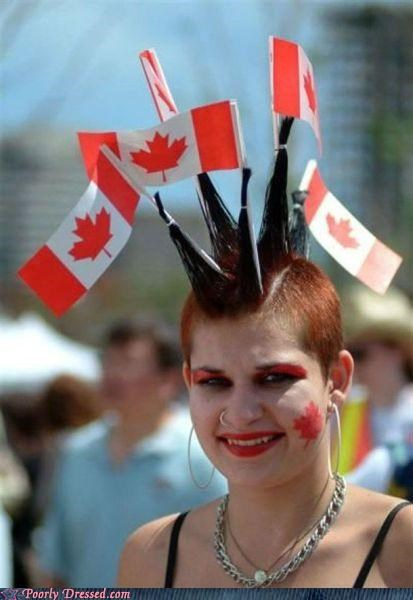 Canada,flags,Hall of Fame,mohawk,punk