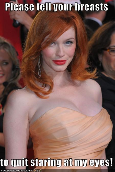 actor,celeb,Christina Hendricks,dairy queen,funny,sexy