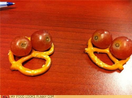 conversation faces grapes pretzels - 5073436416