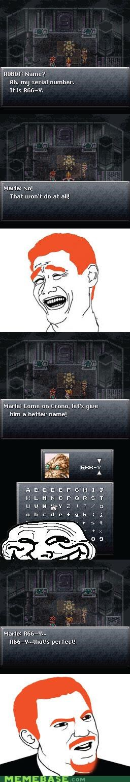 Chrono Trigger,Memes,princess,robots,video games