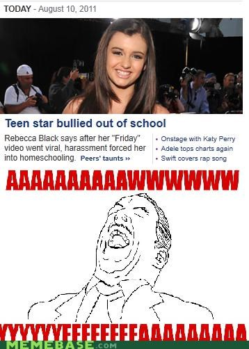 bully FRIDAY harrassment Rebecca Black use viral - 5073492992