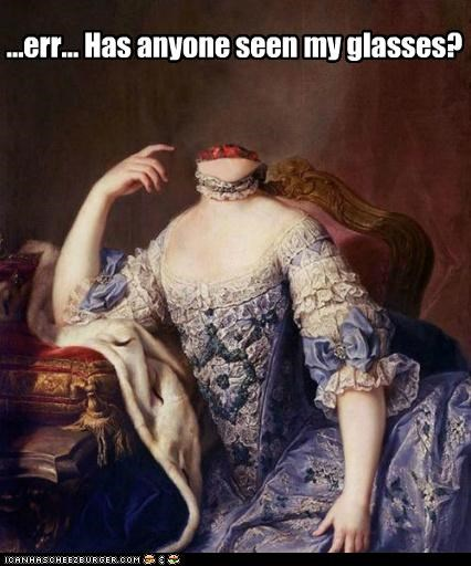 beheaded decapitated glasses historic lols paintings portraits wtf - 5075083264