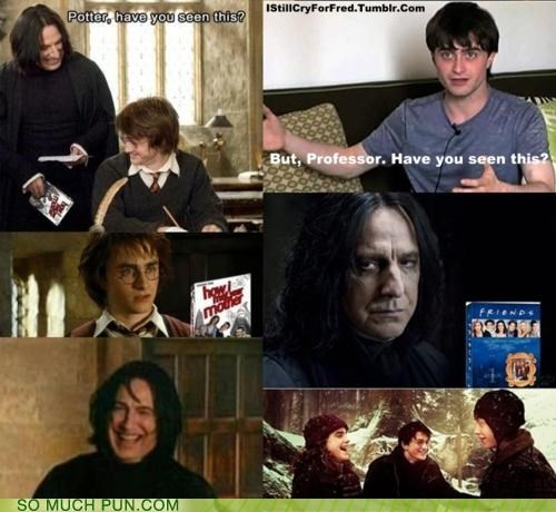 argument friends Hall of Fame Harry Potter how i met your mother snape subtlety touché - 5075237632