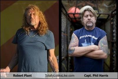 captain phil harris,cornelia marie,deadliest catch,led zeppelin,musicians,robert plant