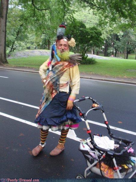 parrot skirt stroller - 5075773440