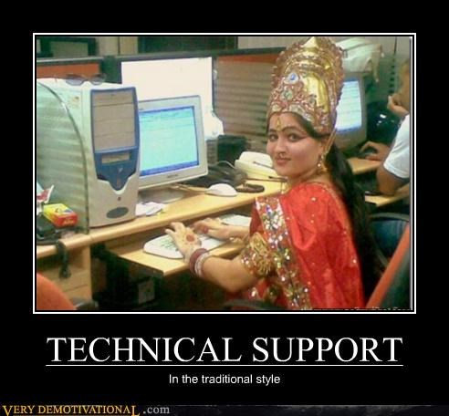 TECHNICAL SUPPORT In the traditional style