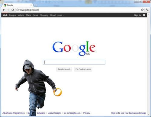 2011 London Riots,google doodle,Obligatory,UK Riots