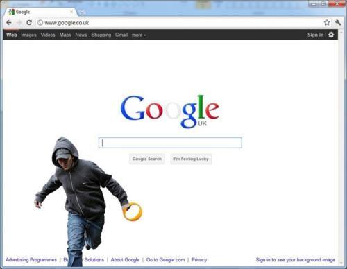 2011 London Riots google doodle Obligatory UK Riots
