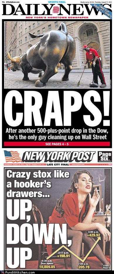 economy new york daily news New York Post newspapers political pictures Pundit Kitchen - 5076425216