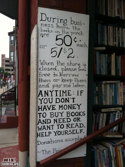 books,borrowing,business,charity,free stuff,nice,store
