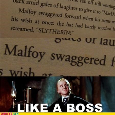 draco malfoy,Harry Potter,Like a Boss,swag