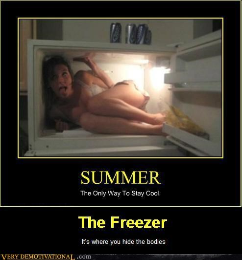 beer bodies freezer hilarious wtf