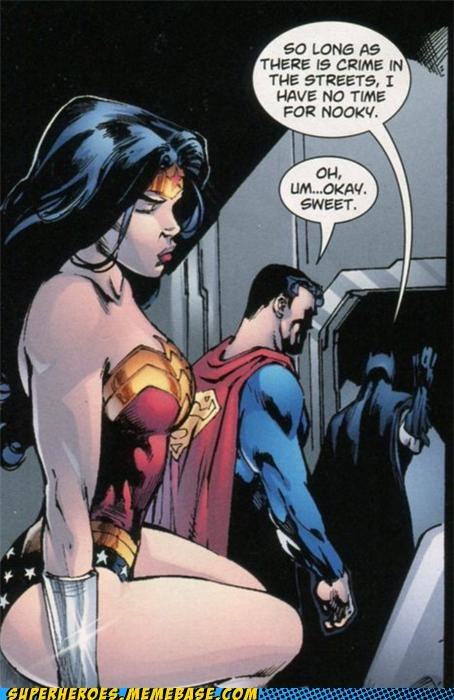 batman nooky sexy times Straight off the Page superman wonder woman wtf - 5076686848