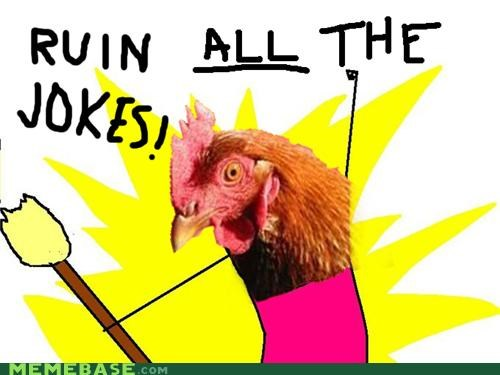 all the things anti joke chicken holocaust problems jokes lol ruin - 5076730624