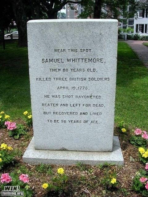 BAMF funeral grave Hall of Fame history tombstone - 5076736512