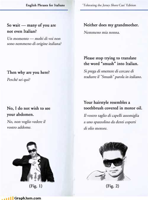 italian jersey shore translations