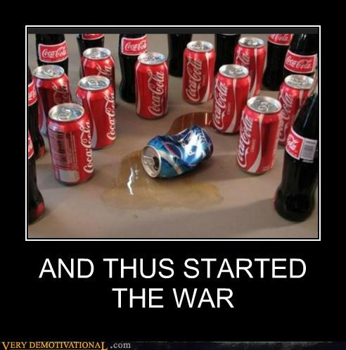 coke,hilarious,murder,pepsi,war
