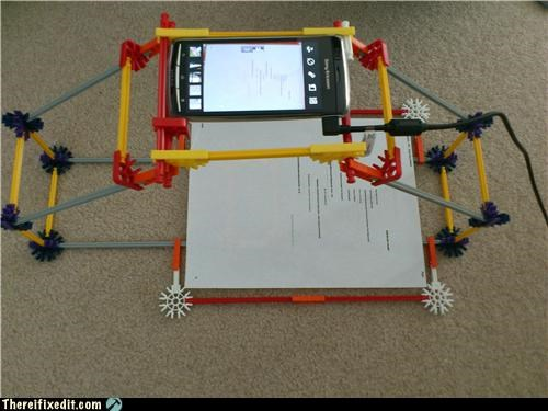 cell phone,dual use,knex,technology
