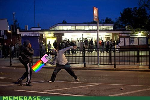 birth Nyan Cat origins throwing