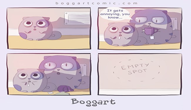adorable comics by apofiss about cats and their friends