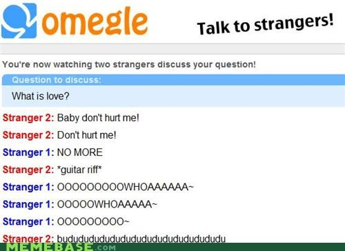 hadaway lyrics Omegle spymode what is love - 5077152000