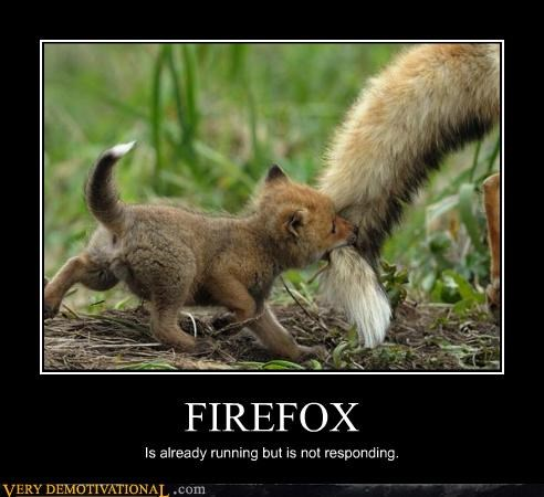 FIREFOX Is already running but is not responding.