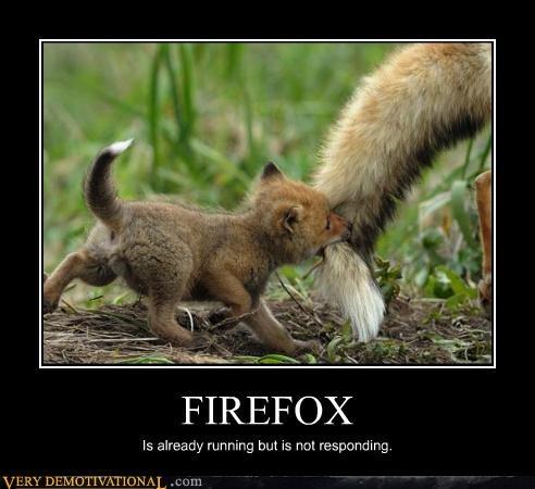 baby firefox hilarious not responding running - 5077401088